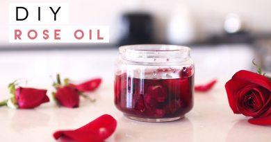 DIY Rose Oil for Skin, Hair, Nails
