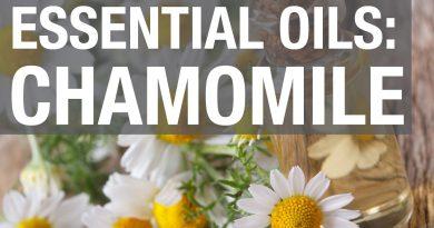 Essential Oils: Chamomile