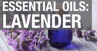 Essential Oils: Lavender Oil