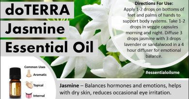 Exciting doTERRA Jasmine Essential Oil Uses