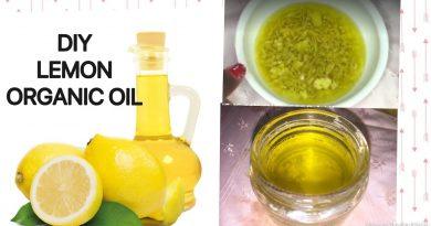 HOW TO MAKE LEMON ESSENTIAL OIL/ DIY LEMON OIL AT HOME /BRIGHT SKIN&HAIR(Vit C)