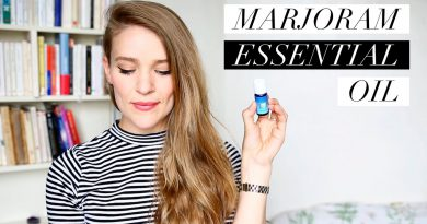 Marjoram Essential Oil + How to use Essential Oils | Ula Blocksage