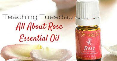 Rose Essential Oil: Teaching Tuesday