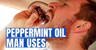 Stronger, Smarter, Faster with PEPPERMINT OIL (3 Man Benefits)