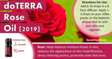 Astonishing doTERRA Rose Essential Oil Benefits And Uses (New for 2019)