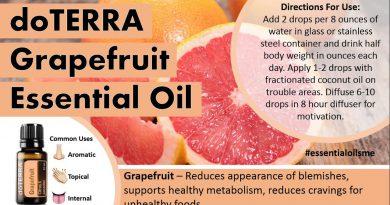 Best doTERRA Grapefruit Essential Oil Uses