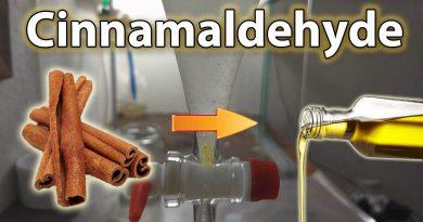 Cinnalmaldehyde Extraction - Cinnamon Oil from Bark with Steam Distillation