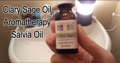 Clary Sage oil aromatherapy review and effects...Salvia oil...