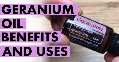 Geranium Oil: Benefits And Uses Of Flower Power