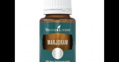 Let's learn today about Marjoram essential oil