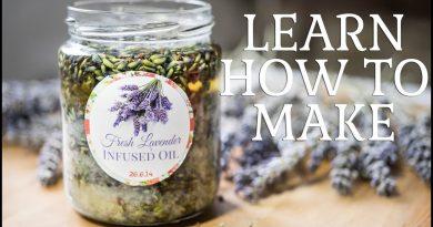 Making Lavender Infused Oil At Home – Herbal Remedies