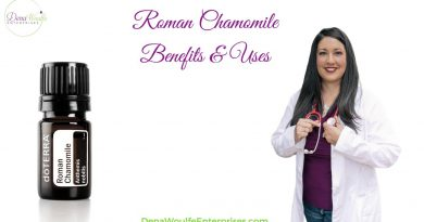 Roman Chamomile Essential Oil Uses & Directions
