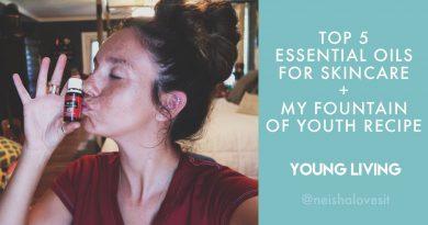 Top 5 Essential Oils for Skincare | Face Serum Recipe