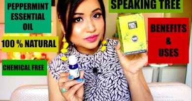USES & BENEFITS OF PEPPERMINT ESSENTIAL OIL || SPEAKING TREE PEPPERMINT ESSENTIAL OIL