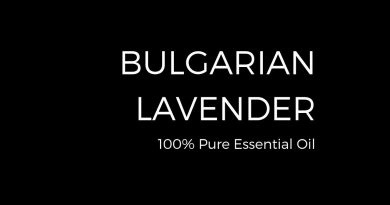 100% Pure Bulgarian Lavender Essential Oil