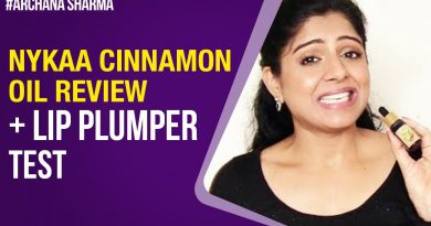 Cinnamon Oil Lip Plumping | Nykaa Essential Oil Review | Be Beautethical | Archana Sharma