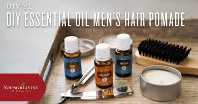 DIY Essential Oil Men's Hair Pomade   Young Living