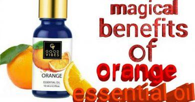 Four ways of using orange essential oil on skin, benefits of orange essential oil to our skin....