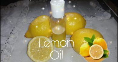 How To Make Lemon Oil For Skin Lightening