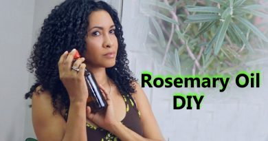 How to make Rosemary Oil at home /DIY Hair growth oil