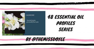 Jasmine #22 essential oil profiles