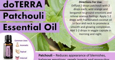 Terrific doTERRA Patchouli Essential Oil Uses