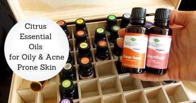 Best Citrus Essential Oils for Oily and Acne-Prone Skin