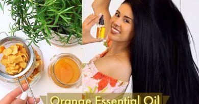 DIY Orange Oil For Skin & Hair