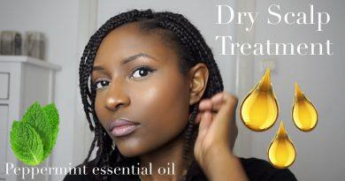 Dry scalp treatment || Peppermint essential oil