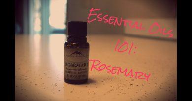 Essential Oils 101| Rosemary Essential Oil | Semi Crunchy Mama