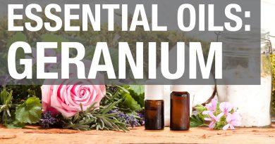 Essential Oils: Geranium