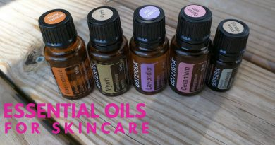 Essential Oils that are Good for  Skin