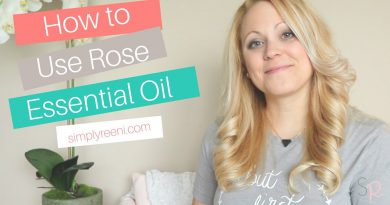 How to Use Rose Essential Oil✨