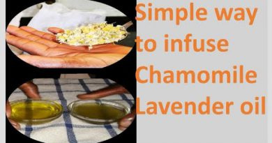 How to make Chamomile and Lavender oil at home | scented oil | NTNP