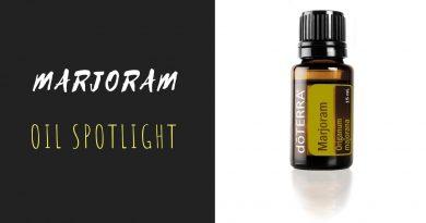 Marjoram - doTERRA Essential Oil Spotlight