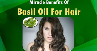 Miracle Benefits of Basil Oil for hair.