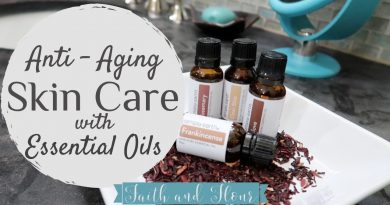 My Essential Oil Blends for Anti Aging | DIY Essential Oil Recipes for Skin Care| Frankincense Oil