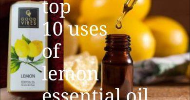 Top 10 uses of lemon essential oil|good vibes lemon essential oil|how to lemon essential oil