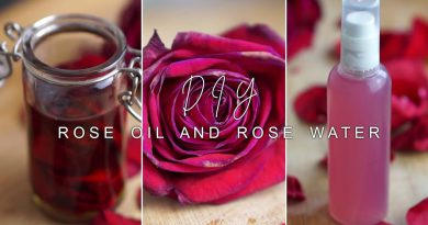 how to make  ROSE INFUSED OIL & ROSE WATER | DIY