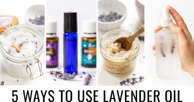 5 DIY'S Using Lavender Essential Oil 💜 RECIPES + TIPS
