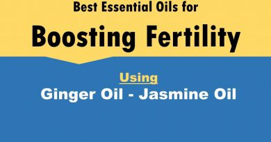 Best Essential Oils for Boosting Fertility | Ginger Oil - Jasmine Oil