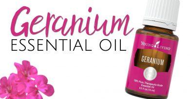 Geranium Essential Oil Young Living