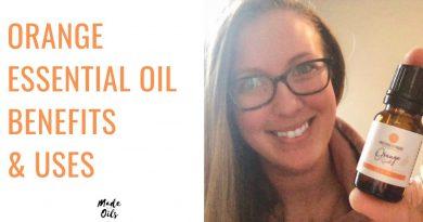 Orange Essential Oil Benefits & Uses