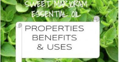 Sweet Marjoram Essential Oil - Benefits & Uses