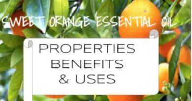 Sweet Orange Essential Oil - Benefits & Uses