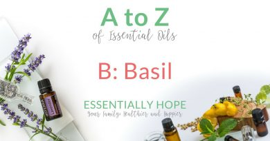 B: Basil - doTERRA Essential Oil Uses and Benefits