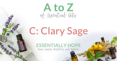 C: Clary Sage - doTERRA Essential Oil Uses and Benefits