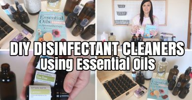 DIY Essential Oils Disinfectant Sprays  | DIY Home Cleaners 100% all natural