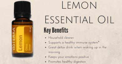 DoTerra Lemon Essential Oil Review
