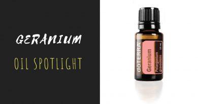 Geranium - doTERRA Essential Oil Spotlight